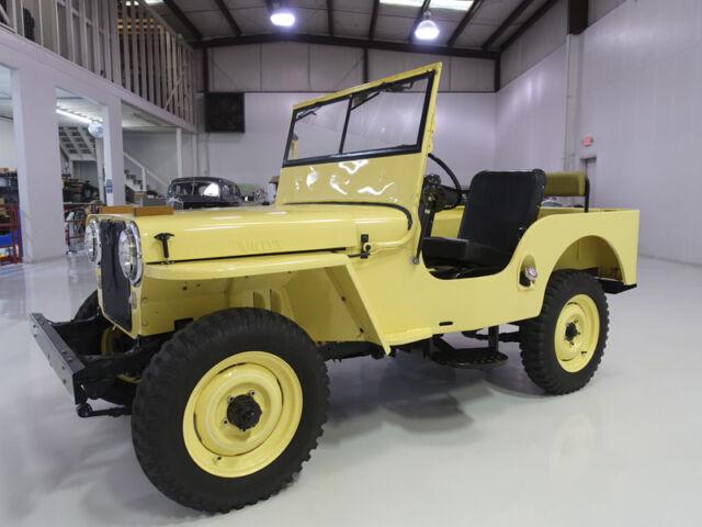 1948 Willys CJ2A   Wonderfully restored
