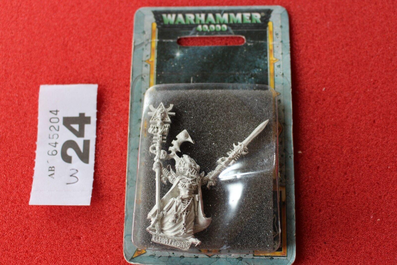 Games Workshop Warhammer 40k Eldar Eldrad Ulthran Exarch BNIB New WH40K Metal