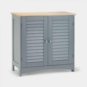 grey wooden bathroom towel linen cupboard bedroom cabinet