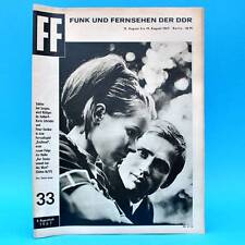 DDR FF-Dabei 33-1967 / 13.08.-19.08. Alfred Struwe Karin Schröder Peter Ensikat
