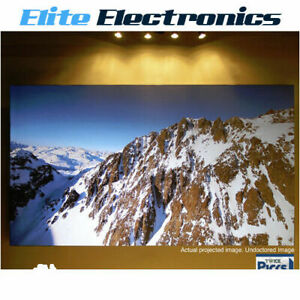 "ELITE SCREENS AR120DHD3 120"" 16:9 AMBIENT LIGHT REJECTING FIXED FRAME PROJECTOR"