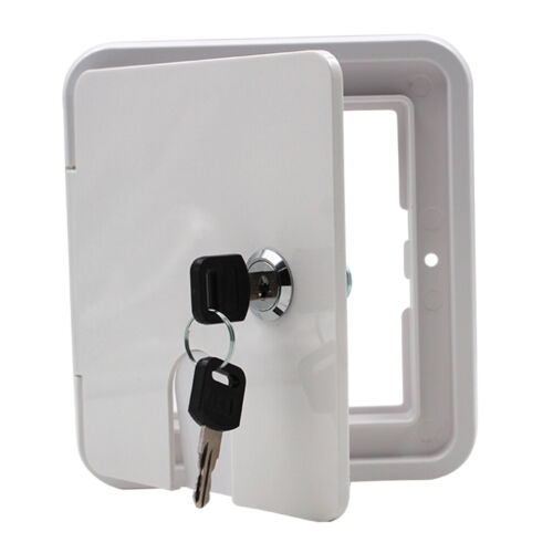 Power Cord Hatch Electrical Access Door for RV Camper Trailer Motorhome