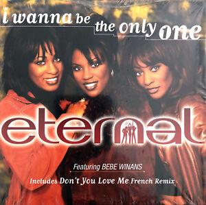 Eternal Featuring BeBe Winans CD Single I Wanna Be The Only One - Europe (EX+/EX - France - État : Trs bon état: Objet ayant déj servi, mais qui est toujours en trs bon état. Le botier ou la pochette ne présente aucun dommage, aucune éraflure, aucune rayure, aucune fissure ni aucun trou. Pour les CD, le livret et le texte l'arrire - France