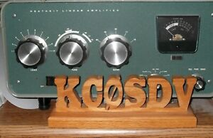 PERSONALIZED-HANDCRAFTED-OAK-AMATEUR-RADIO-HAM-GMRS-CALL-SIGN-FREE-SHIPPING