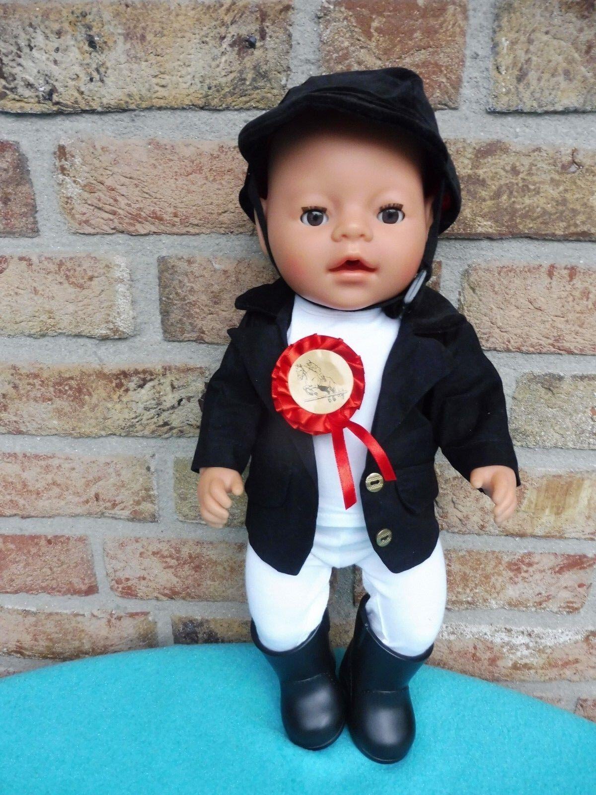BABY Born von Zapf Creation  43 cm groß- im Reiter Outfit -