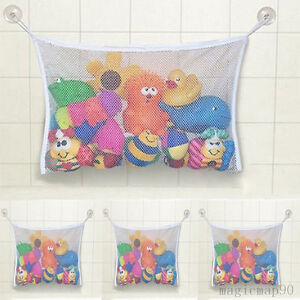 Badezimmer Kleinkind Spielzeuge Netz Ablage Organizer Tasche mit Saugnapf