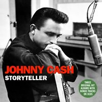Johnny Cash Storyteller With His Hot & Blue Guitar, Fabulous, Sings 3 Cd