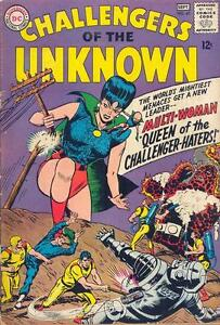 CHALLENGERS-OF-THE-UNKNOWN-45-VG-tape-snags-f-c-writing-f-c-DC-Comics-1965