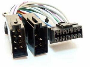 Adapter-Kabel-fuer-JVC-Auto-Radio-DIN-ISO-Stecker-16-Pin-Kabelbaum-KFZ