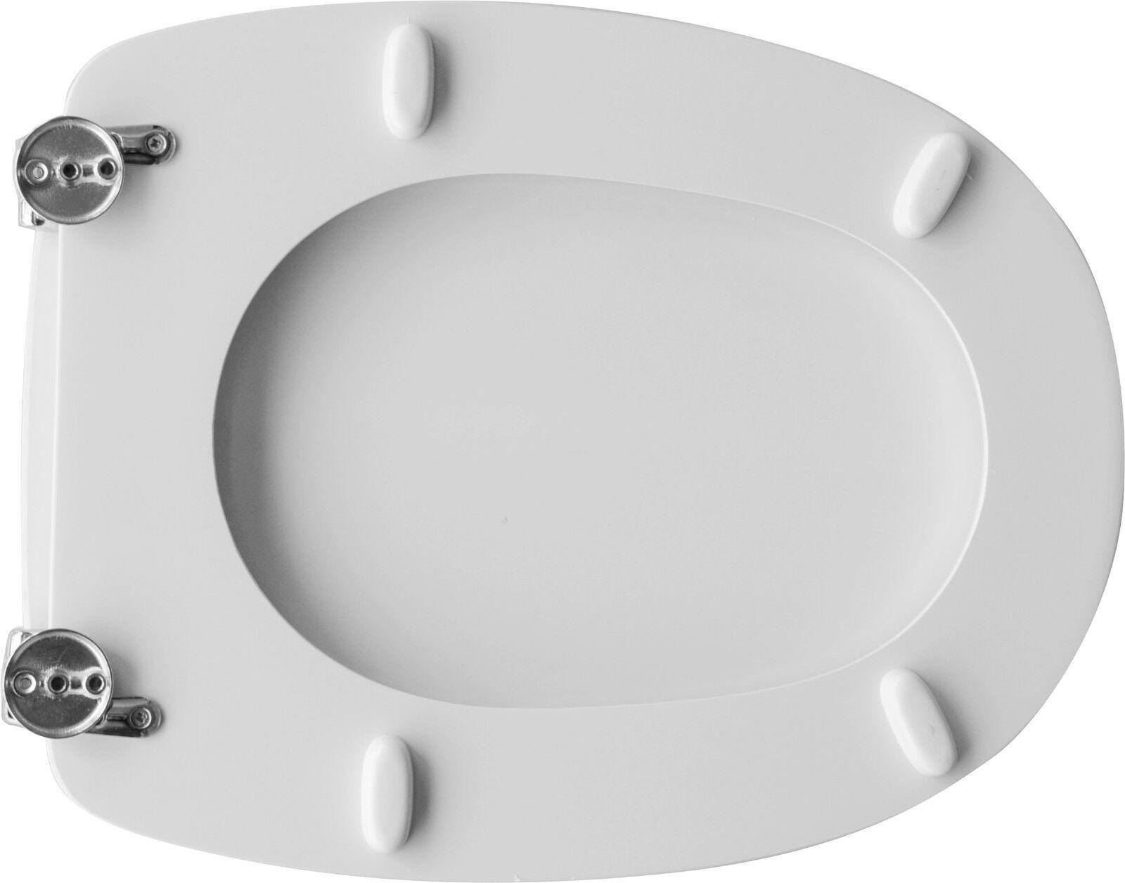 Toilettensitz Toilettensitz Toilettensitz Sitz Wc für Catalan Vase Tissi Weiß 394d67