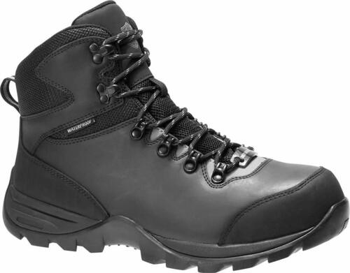HARLEY DAVIDSON MEN/'S BENHAM D93581 BLACK GREY RIDING BOOTS BRAND NEW