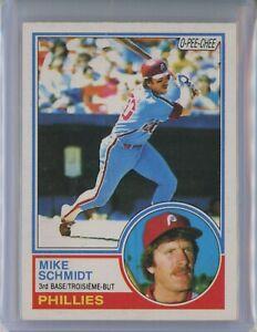 1983-O-Pee-Chee-300-MIKE-SCHMIDT-Phillies-HOF