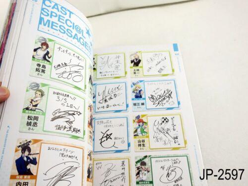 Idolmaster SideM 2nd Anniversary Book Japanese Artbook The Side M US Seller