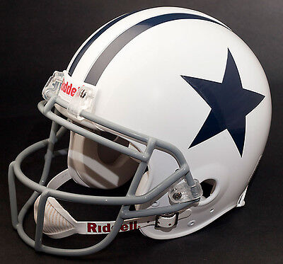 Dez Bryant Edition Dallas Cowboys Riddell Replica Throwback Football Helmet Nfl Ebay