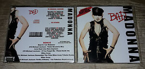 Madonna-CD-Bad-VS-Michael-Jackson-and-others-RARE-FAN-EDITION-13-Remixes