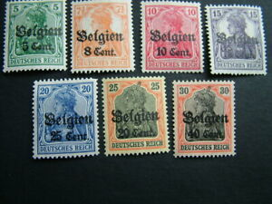 Antique German stamps WWI postal ephemera letters old stamp collection philately
