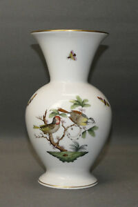 Herend-Hvngary-Vase-Porzellan-Rothschild-7023-RO-20-5-cm