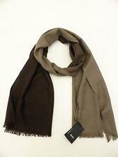 Hugo Boss Scarf Silk & Wool 'Hebit' Brown