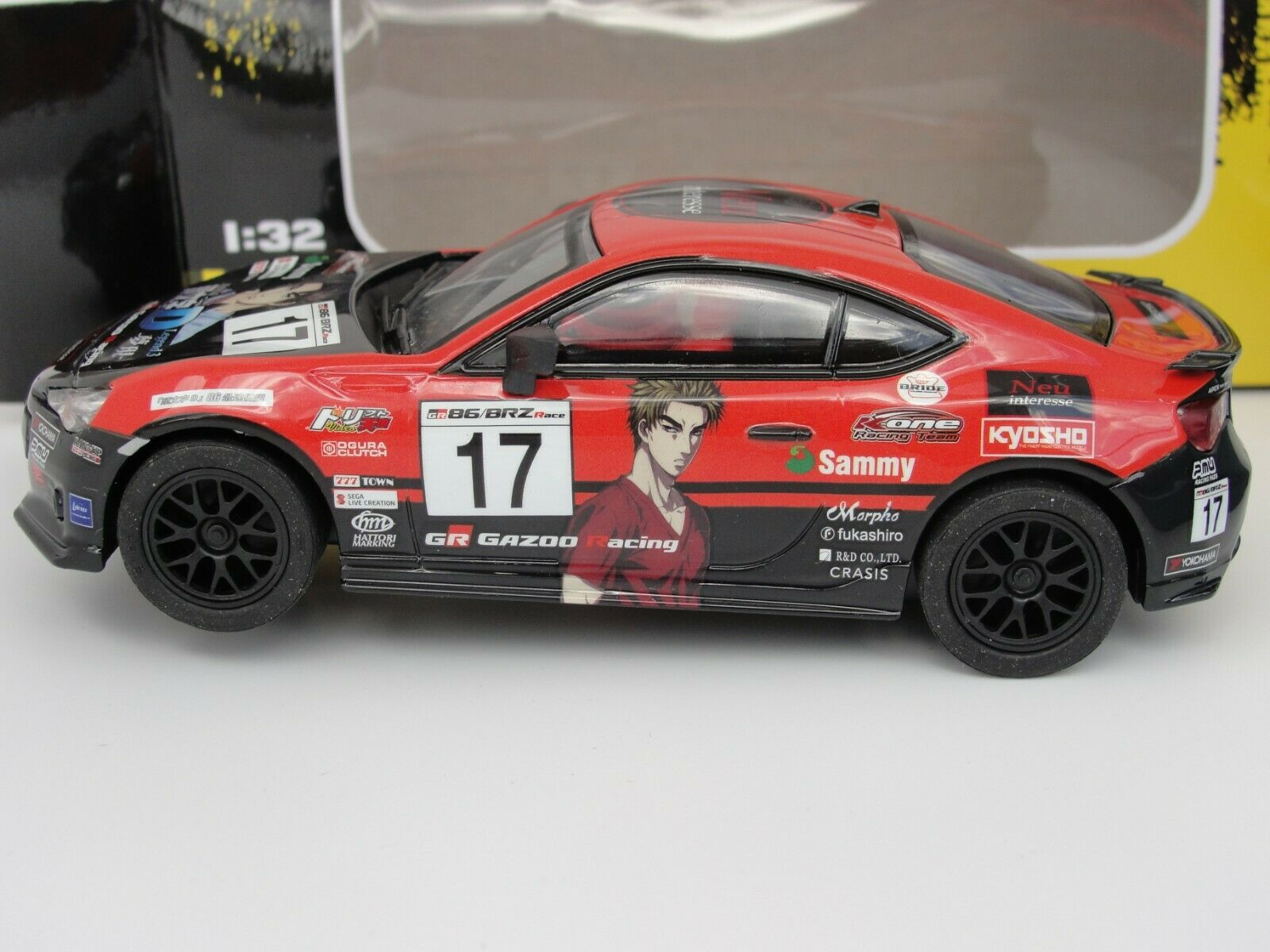 POLICAR HOME RACERS TOYOTA 'GR GAZOO RACING' CT01A  1 32 SLOT BNIB