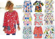 Mini Boden dress top girls cotton jersey hotchpotch print tunic NEW age 1 - 12