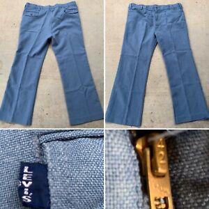 Vintage-Levi-039-s-Big-E-Hose-Western-Cowboy-42-x-30-41-034-Taille-Talon-42-Reissverschluss