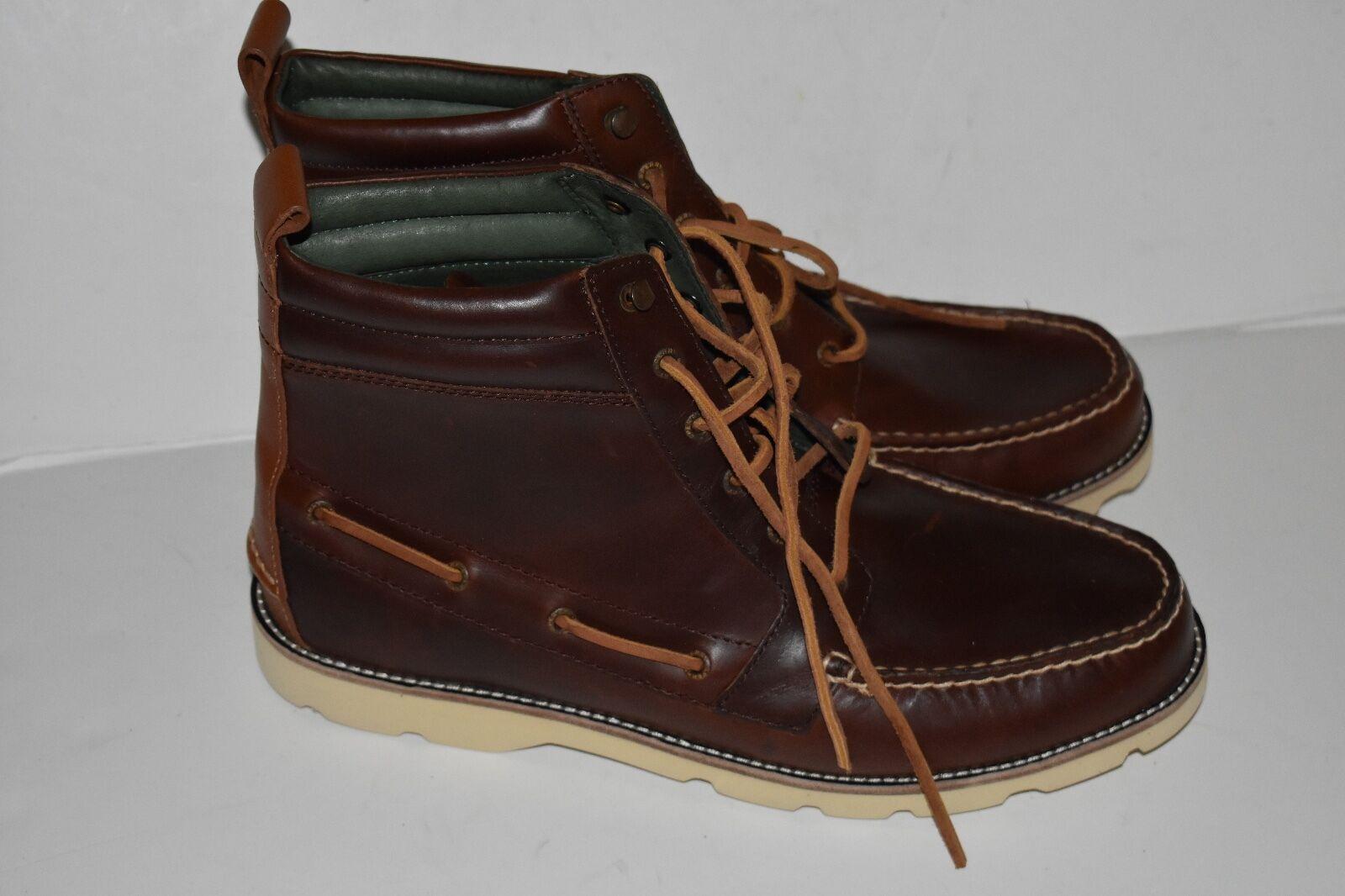 Mens Sperry Bushwick Boot DarkK Brown STS13325  Size 13M