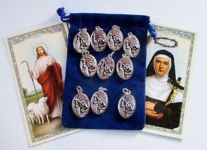 Details about Wholesale Lot of 50 St  Rita Saint Medals