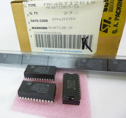 2Kb x 8 150ns TIMEKEEPER SRAM   M48T12   DS1642 NEW 1 piece  MK48T12B15 16Kbit