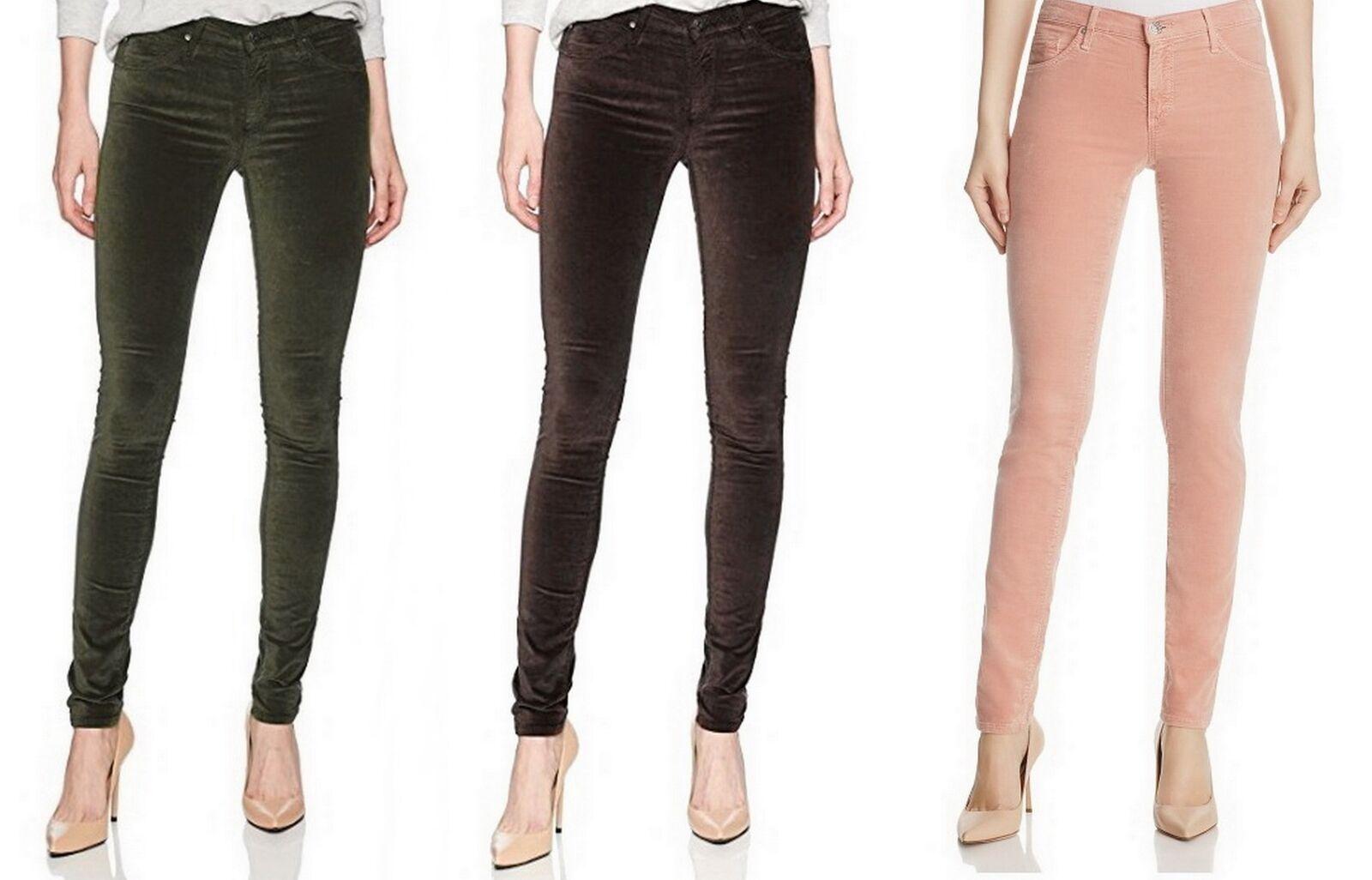Adriano Goldschmied le legging velours Super Skinny Jeans sz 25 28 29 30 156 F