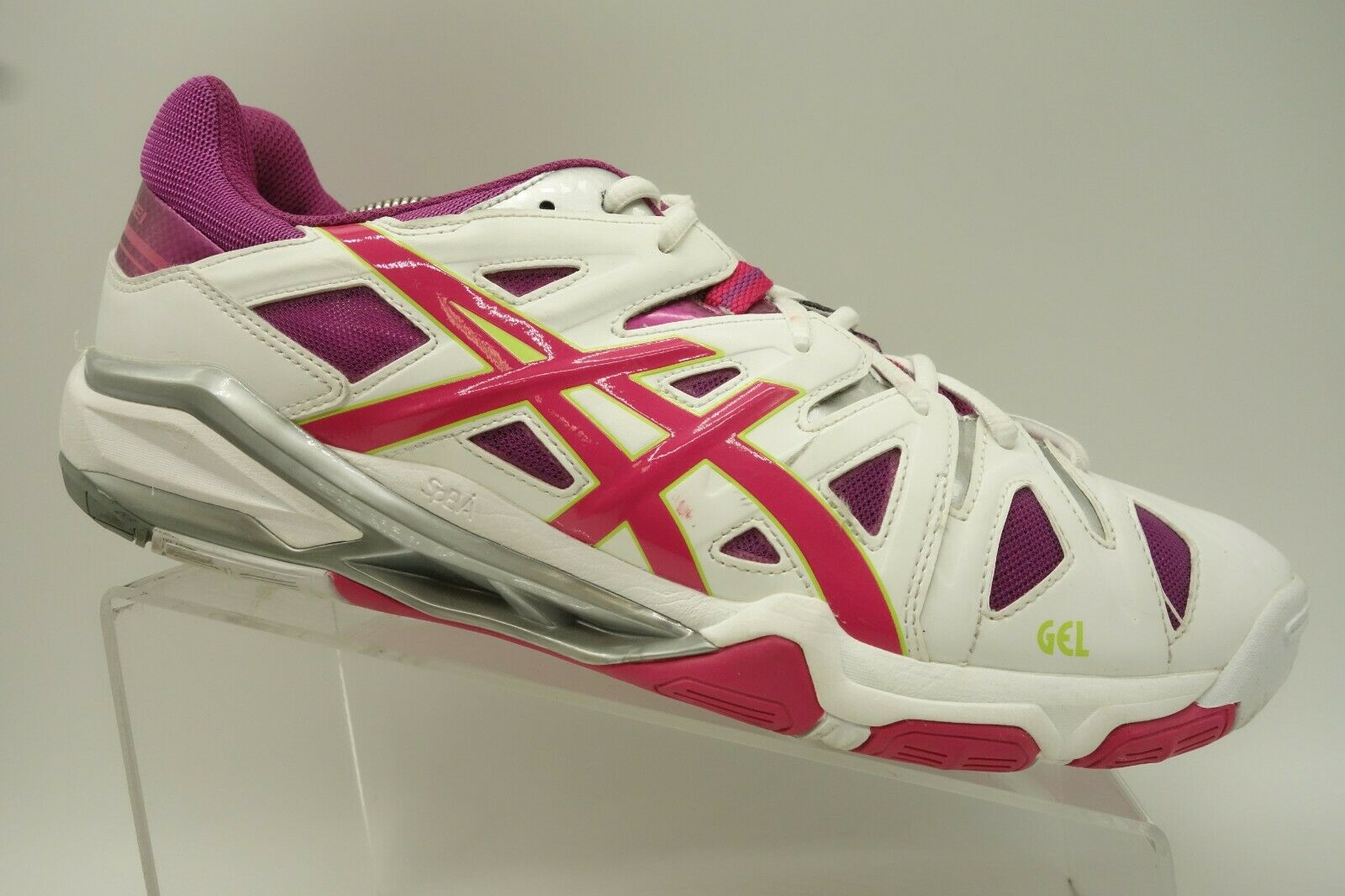 Asics Gel Sensei Multi-color Lace Up Athletic Basketball shoes Women's 13