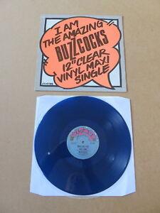 BUZZCOCKS-I-Am-The-Amazing-Buzzcocks-12-034-Clear-Vinyl-Maxi-Single-BLUE-VINYL-12-034
