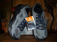 Ozark Trail Mens Leather Hiker Shoes Size 9 Color Gray Charcoal Mens Athletic