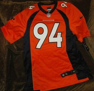 the best attitude d5079 65f00 Details about DeMarcus Ware jersey! Denver Broncos men's small NEW with  Tags Orange throwback