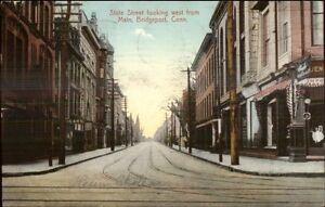 Bridgeport-CT-State-Street-c1910-Postcard