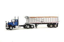"Caterpillar CT680 Truck w/ East Dump Trailer - ""BLUE"" - 1/50 - WSI #39-1003"