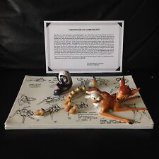 Disney Gallery BAMBI Ltd Edition Model Sheet Porcelain Figural-HTF