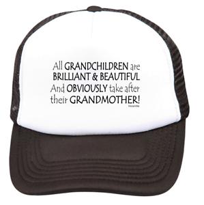 trucker hat cap foam mesh All Grandchildren Brillant Take After Grandmother