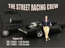 AMERICAN DIORAMA STREET RACING CREW 1:18 FIGURE III 77433