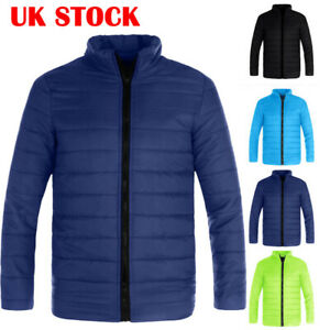 UK-Mens-Puffer-Bubble-Winter-Warm-Coats-Hoodie-Padded-Coat-Jacket-Zip-Up-Outwear