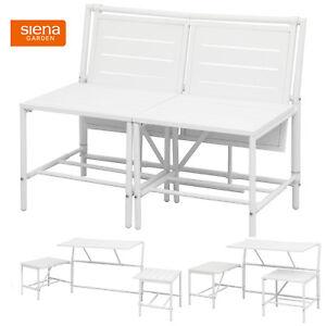 2in1 sitzbank oder 2 hocker mit tisch balkon bistro set klapptisch klapstuhl ebay. Black Bedroom Furniture Sets. Home Design Ideas