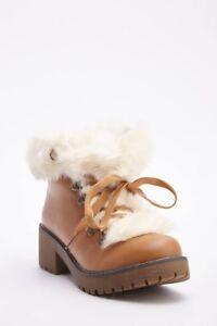 CAMEL TAN LADIES SIZE 5//38 HEEL CONTRAST FOLDOVER BUCKLE//STRAP ANKLE BIKER BOOTS