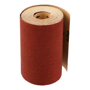 Schleifpapier Rolle 115 mm x 10 m Korn 40-240 Schleifrolle Schmirgelpapier Hand