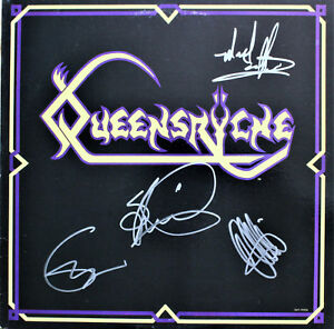 QUEENSRYCHE-1st-EP-SIGNED-AUTOGRAPHED-VINYL-RECORD-by-4