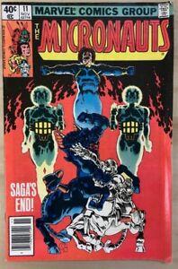 MICRONAUTS-11-1979-MARVEL-COMICS-VG