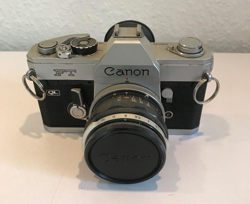 Canon, FT, spejlrefleks