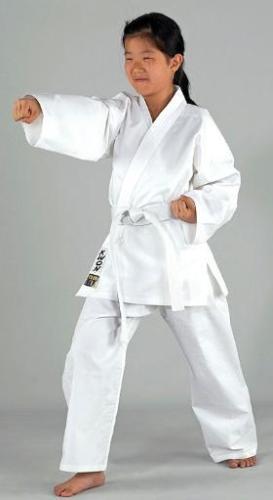 Karate Anzug Renshu von KWON 120-200cm Karateanzug 100/%  Baumwolle + Gürtel