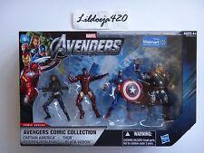 Marvel Universe Walmart Avengers Black Widow Thor Iron Man Captain America