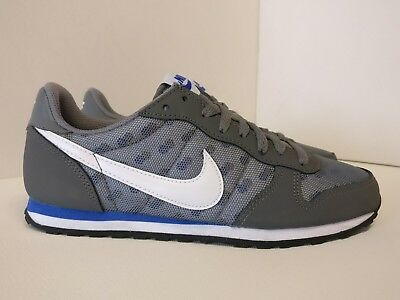 Nike De Mujer Impresión GENICCO UK 4.5 Gris Frío Blanco Racer Azul 705283014   eBay
