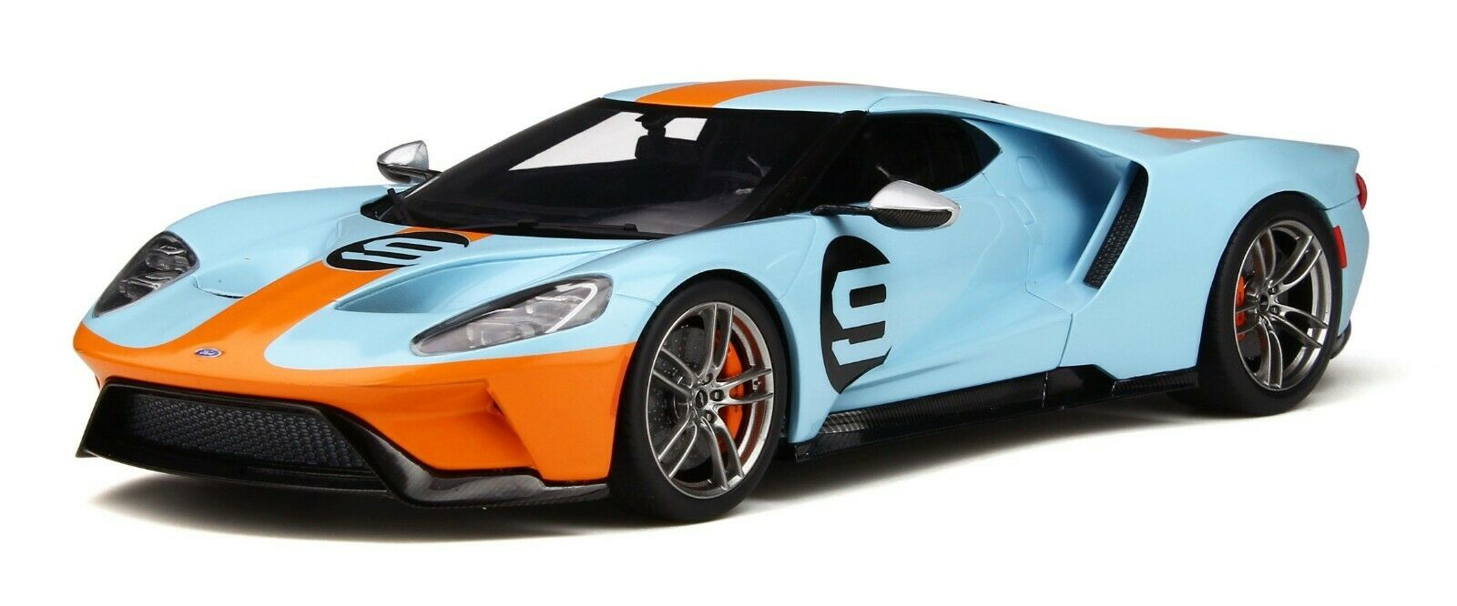 FORD GT Heritage Edition Gulf gt783 limitée 999 Pièces GT SPIRIT 1 18 NEUF