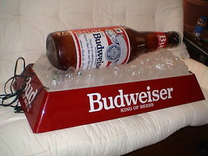 Budweiser Pool Table Light Man Cave Bar Rec Room Ebay